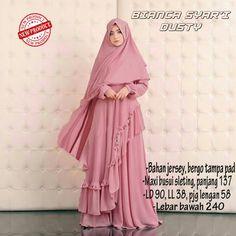 Baju Muslim Gamis Syar'i Bianca Syari Dusty - http://warongmuslim.com/baju-muslim-gamis-syari-bianca-syari-dusty.html