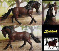 Commission: repaint Schleic Andalusian stallion by Schleichgirl1976.deviantart.com on @DeviantArt