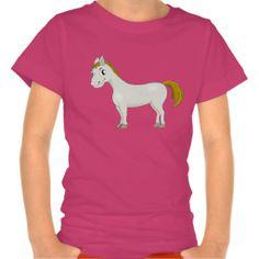 T-Shirt with cartoon horse