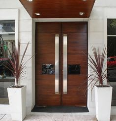 Interior Doors Main Door Design Wood Front Doors And Main Door On Home Door Design, Main Door Design, Entrance Design, Front Door Design, House Design, Entrance Decor, Roof Design, Fence Design, Entryway Decor