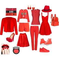 """""""Carnival of red"""" by majorbori on Polyvore"""