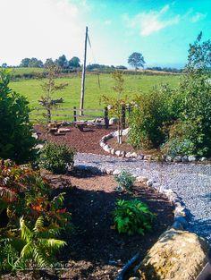Garden Planting and Gravel Area.ie 69 Landscape Design, Garden Design, Ireland Landscape, Dublin, Planting, Garden Landscaping, Vineyard, Construction, Travel