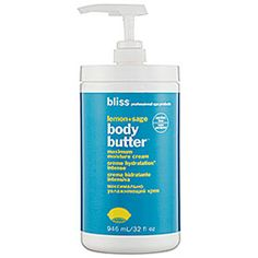 I just bought this 32 oz. limited edition size at Sephora because I was tired of having to buy it every month.  Best body moisturizer!  Like anything it absorbs best on damp skin, so after showering is best.