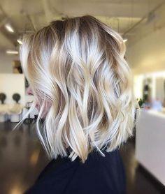 Blonde Balayage Bob Hair
