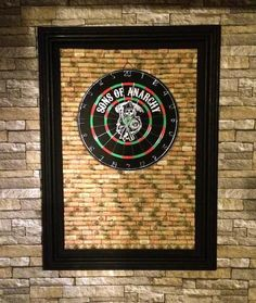 Be warned, these man cave ideas might have you staying in your favorite room the whole day. Grab a beer and check out which DIYs to cross off your list. | Dart Board Backing | Cool Man Cave Ideas To Try This Week | DIY Projects