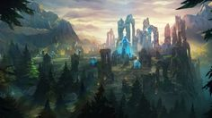 League of Legends New Summoners Rift Map Game Landscape Fantasy 1920x1080