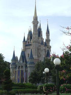 Cinderella Castle, Magic Kingdom, WDW.