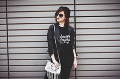 89Lies Rebecca Minkoff Look Outfit Bag Black