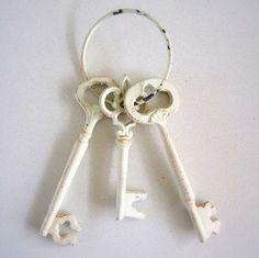 Vintage Metal keys