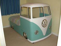 Campervan bed...So very Cool!