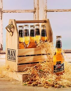 Perfect man crates Gifts , Netflorist offers a range of man crates Gifts. Man Crates, Same Day Delivery Service, 6 Packs, Packing, Beer, Marketing, Gifts, Bag Packaging, Root Beer