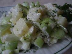 www.przepismamy.pl: Sałatka z ziemniaków i selera naciowego