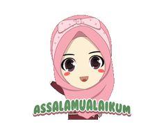 LINE Creators' Stickers - Naira : Assalamualaikum Ukhti Example with GIF Animation Cartoon Gifs, Cute Cartoon Wallpapers, Party Girl Quotes, Muslim Greeting, Assalamualaikum Image, Islamic Cartoon, Emoji Images, Kids Background, Islam For Kids