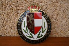 Vintage-Austria-car-club-badge-Automobil-club-salzburger-1960