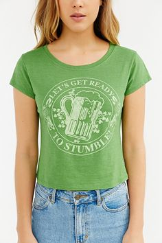 Corner Shop St. Patty's Day Tee - Urban Outfitters