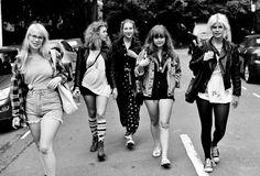 GAVIN WATSON PHOTOGRAPHY: SWEDISH GIRL GANGS ROAM KINGS CROSS LONDON!!!!