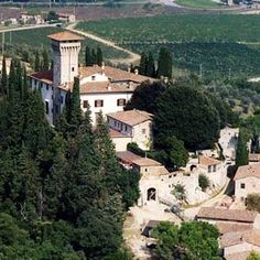Castello Vicchiomaggio - gorgeous Tuscany. What a wine tasting! Best bruschetta ever! Home grown olive oil. Unbelievable views.
