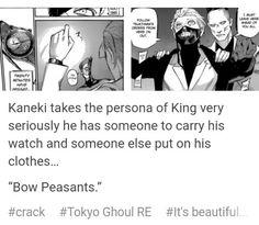 Tokyo Ghoul Re 107 Kaneki One Eyed King
