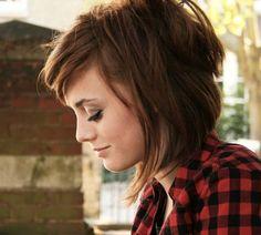 medium haircuts for dark red hair | 35 Cute Hairstyles For Medium Hair Which Look Splendid | CreativeFan