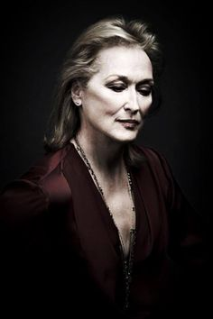 Meryl Streep photographed by Andy Gotts