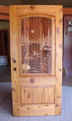 27)Loon Lake door