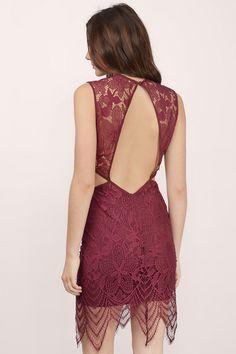 Charming Lace Bodycon Dress