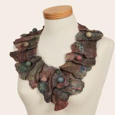 Felt and Silk Art / Felt Collars