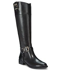 Boots, Black riding boots, Tall