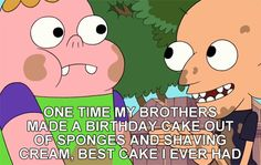 Best Cake I Ever Had #clarence #sumo #cake #birthday