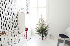 Kids room - Christmas tree - My Second Hand Life