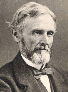 Jefferson Davis, President of the Confederate States (Confederacy) during the Civil War.  White House of Confederacy was in Richmond, Virginia.