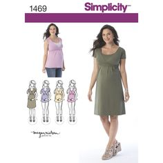 """stay comfortable and stylish during your pregnancy in this flattering maternity   top and dress. these items are just what you need for discreet nursing once your baby arrives, just pull down v neck to reveal   opening.<p></p><img src=""""skins/skin_1/images/icon-printer.gif"""" alt=""""printable pattern"""" /> <a   href=""""#"""" onclick=""""toggle_visibility('foo');"""">printable pattern terms of sale</a> <div id=""""foo"""" style=""""display:none;   margin-top: 10px;"""">digital patterns are tiled and labeled so you c..."""