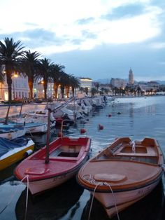 Split, Croatia. Would love to move there!