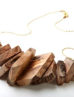 wood necklace by NORITAMY.... i got it and i like it!
