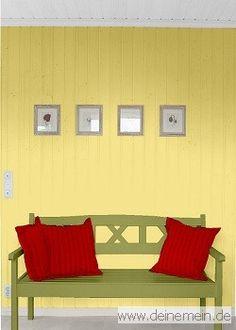 Farbgestaltung Fr Ein Wohnzimmer In Den Wandfarben Mild 0100203