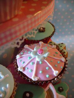 Pink cupcake by nice icing, via Flickr