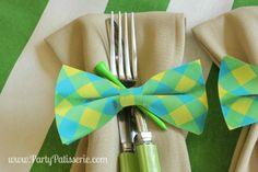Cute Bowtie napkin r
