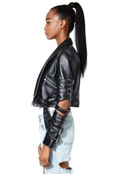 Nasty Gal Collection Vicious Love Leather Jacket | Shop Jackets + Coats at Nasty Gal