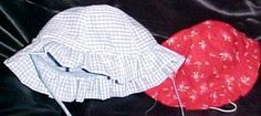 Ruffle brimmed toddler hat tutorial  http://sewing.about.com/od/childrensclothingprojects/ss/rufflehat.htm