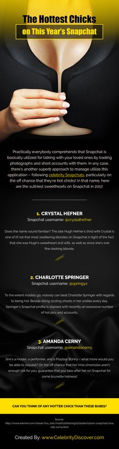 The Hottest Chicks On This Year's Snapchat