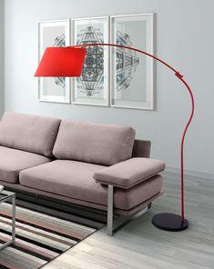 Zuo Derecho Floor Lamp Red – Modish Store
