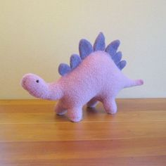 Stegosaurus Dinosaur, Stuffed Animal