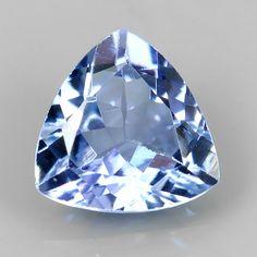 .66 ct Natural VVS Tanzanite Trillion Cut Loose Gemstone