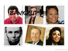 bankruptcy. bankrupts, debt free, financial problems, financial stress, trustee, robin williams bankrupt, ed mcmahon, ed mcmahon bankrupt, robin williams, bankrupt, rich and famous, celebrity bankruptcies