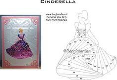 Cinderella Iris Fold Card