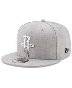 New Era Boys  Houston Rockets The Heather 9FIFTY Snapback Cap - Gray  Adjustable Gorras d4063b7598f