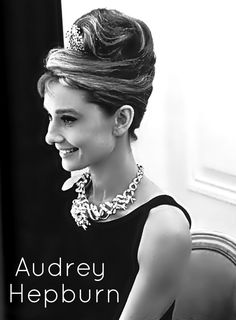Fantastic Updo Audrey Hepburn Hairstyles And Love Love Love On Pinterest Short Hairstyles For Black Women Fulllsitofus