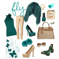 Teal fun Stylish Style Outfit! LOVE!!!!