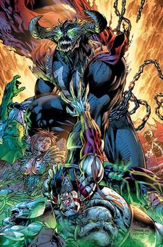 Image United by Jim Lee Image United variant cover by Dale Keown. Witchblade, Ripclaw, Youngblood, Shadowhawk, Spawn and Savage Dragon fall. Comic Book Artists, Comic Book Characters, Comic Book Heroes, Comic Character, Comic Books Art, Spawn Characters, Image Comics Characters, Spawn Comics, Arte Dc Comics