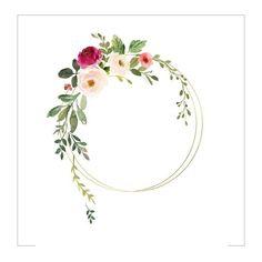 me ~ hd wallpaper Frame Floral, Flower Frame, Flower Art, Wreath Watercolor, Watercolor Flowers, Wreath Drawing, Watercolor Lettering, Flower Logo, Flower Invitation